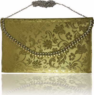 Comfty Party Gold  Clutch