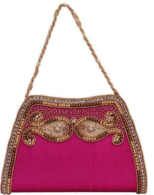 Ashyam Party Purple  Clutch