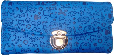 Ud Creation Casual, Wedding, Party, Sports Blue  Clutch