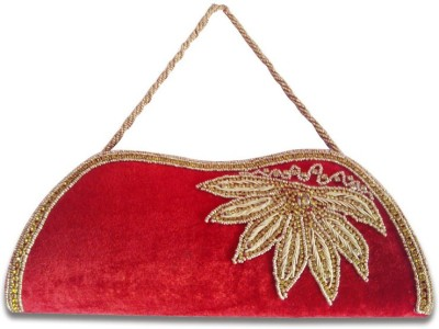Linzina Wedding, Casual, Party, Festive, Formal Red  Clutch