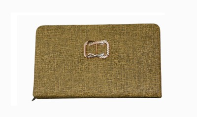 Vedic Deals Casual Gold  Clutch