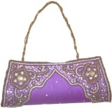 Asian Aura Women Purple  Clutch