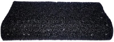 Aabha Stores Party Black  Clutch