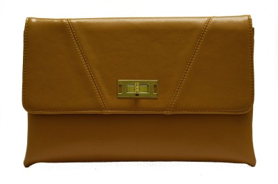 Designish Casual Brown  Clutch