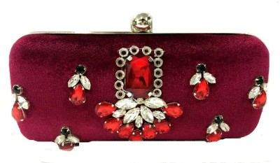 Luxury Living Party Pink  Clutch