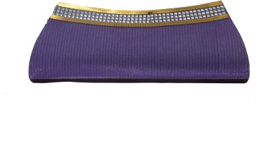 Maayas Party Purple  Clutch