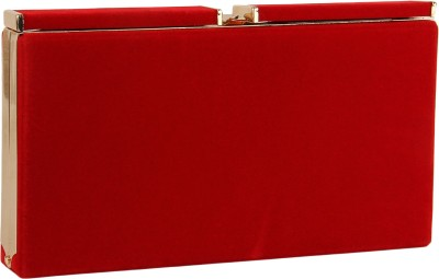 Lino Perros Women Party Red  Clutch