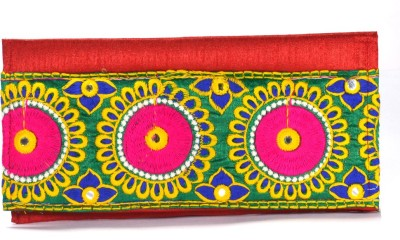 Arisha kreation Co Women Casual Red  Clutch