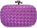 Zaira Diamond Women Purple  Clutch