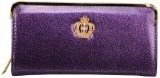 Awesome Fashions Women Purple  Clutch