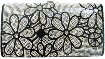 Divine Collection Wedding, Party, Formal Black  Clutch