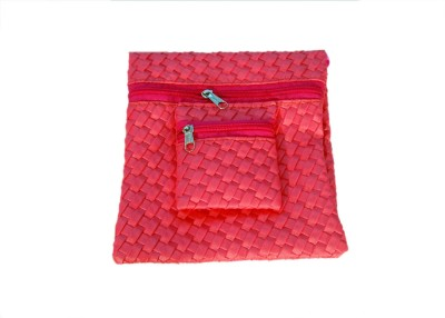 ANAHI Girls, Women Wedding, Party, Festive, Casual Pink  Clutch