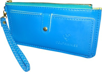 A To Z Creations Women, Girls Casual, Party Blue  Clutch