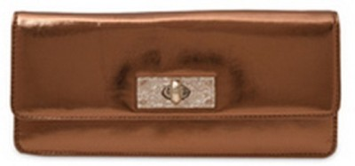 Tessa Moda Brown  Clutch