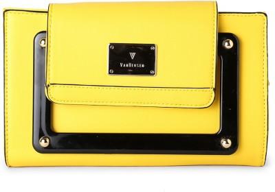 Van Heusen Yellow  Clutch