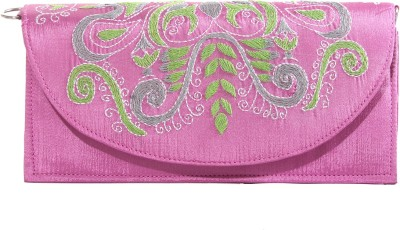 Slice Of Bengal Pink  Clutch