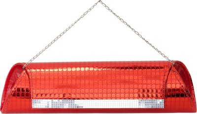 VERMELLO Casual, Party Red  Clutch
