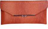 Womaniya Girls Party Brown  Clutch