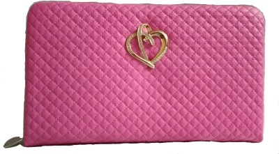 Marutipunch Pink  Clutch