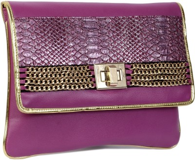 Vdesi Women, Girls Casual, Festive, Formal, Party, Wedding Pink, Gold  Clutch