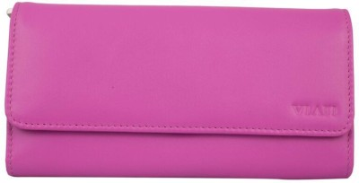Viari Women Formal Pink  Clutch