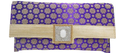 Balee Fashions Women Party Purple  Clutch