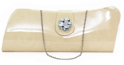 VERMELLO Women Casual Silver  Clutch