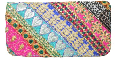 Shilpkart Festive, Formal, Wedding, Party Blue  Clutch