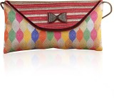 Variation Women Party Multicolor  Clutch