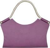 Fostelo Women Casual Purple  Clutch