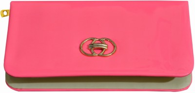 Dame Casual, Formal Pink  Clutch