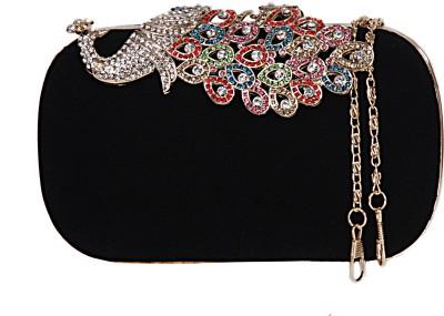 Glamora Black  Clutch