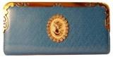 Delihike Women Casual Blue  Clutch