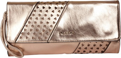 Kiara Women Casual Brown  Clutch