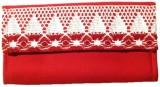 Avni Women Casual Red  Clutch