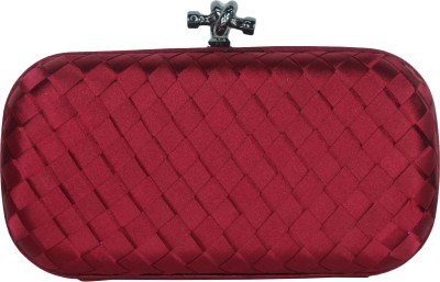 Shoebox Women Party Maroon  Clutch