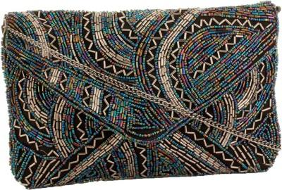 Tiara Party Multicolor  Clutch