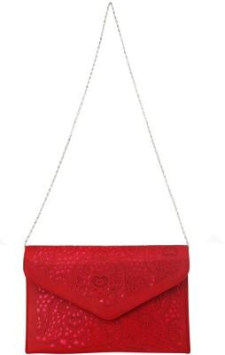 Just Women Women Casual Red  Clutch