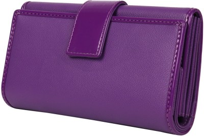 Heels And Toes Casual Purple  Clutch