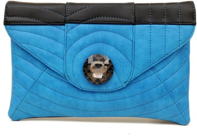 SG Collection Women Casual Blue  Clutch