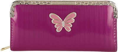 Fashion Hikes Party Maroon, Pink  Clutch