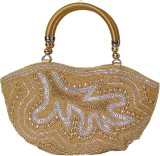 Liza Women Party, Casual Gold  Clutch
