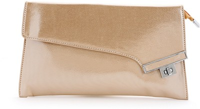 Elligator Women Party Gold  Clutch