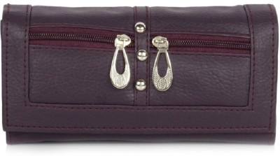 Acute Casual Purple  Clutch