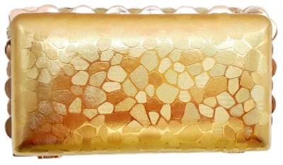 Anmita Wedding, Casual, Party, Festive Gold  Clutch