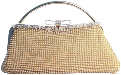 Lion Heart Wedding, Party Gold  Clutch