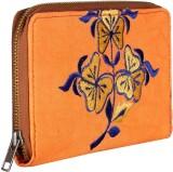 Rajrang Women Casual Orange  Clutch