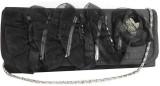 Laviva Women Black  Clutch
