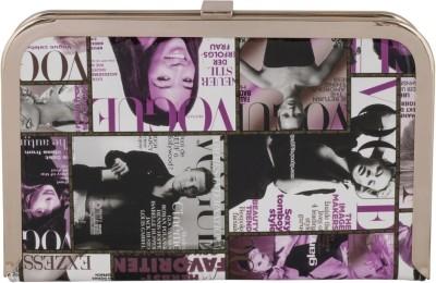 Vian Women Casual, Party Purple  Clutch