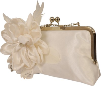 Saint Pure Women Casual, Party White  Clutch
